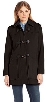 Larry Levine Womens Classic Toggle Duffle Coat