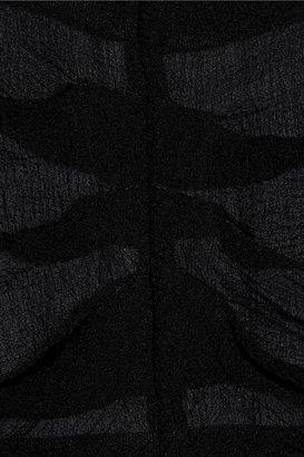 Nina Ricci Silk-georgette top
