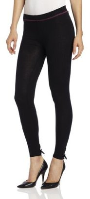Betsey Johnson Women's Betsey's Bowtie Cut And Sew Legging