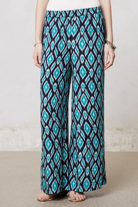Anthropologie Ikat Wide-Legs