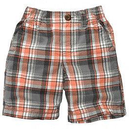 Osh Kosh OshKosh BGosh Boys' 2T-4T Plaid Woven Shorts
