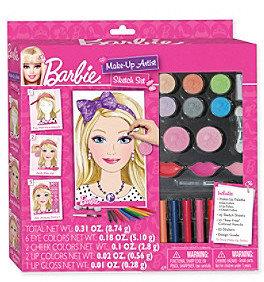 Fashion Angels Barbie® Make-Up Artist Sketch Set