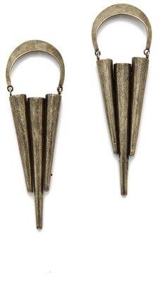 Citrine by the Stones Pua Hoop Earrings