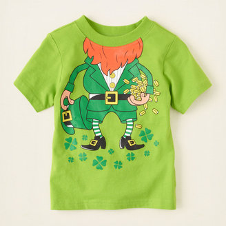 Children's Place St. Patrick's graphic tee