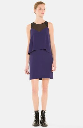 Sandro 'Romy' Tiered Woven Shift Dress