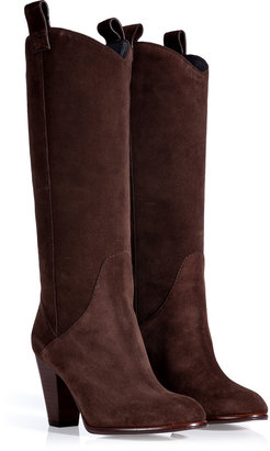 Marc by Marc Jacobs Crosta Espresso Suede Boots