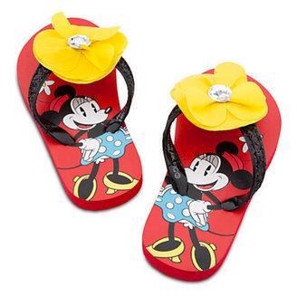 Disney Minnie Mouse Flip Flops for Girls
