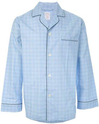 Brooks Brothers Checked pyjama set