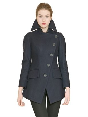 Vivienne Westwood Asymmetric Wool Cloth Coat