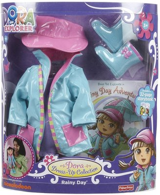 Fisher-Price Dora Dress Up Collection - Rainy Day