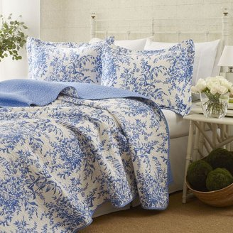 Laura Ashley bedford quilt set - twin