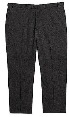 Roundtree & Yorke Big & Tall Flat-Front Expander Dress Pants