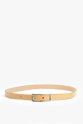 7 For All Mankind Skinny Belt In Nude