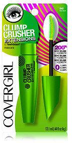 Cover Girl LashBlast Clump Crusher Extensions Mascara, Very Black 840