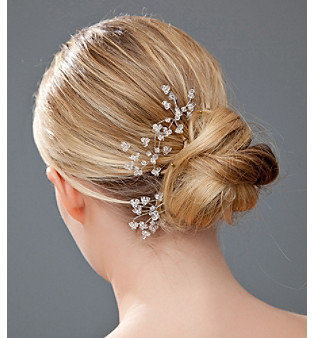 Nina Bridal Alice 3-pc. Swarovski® Crystal Hair Pin Set - Antique Silver