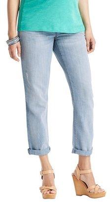 LOFT Maternity Boyfriend Jeans in Summer Bleach Out Wash