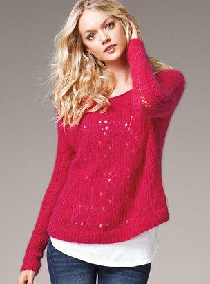 Victoria's Secret Angora Off-the-shoulder Sweater