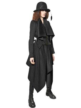 Ann Demeulemeester Draped Viscose/Wool Coat