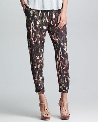Haute Hippie Keith Silk Cargo Pants