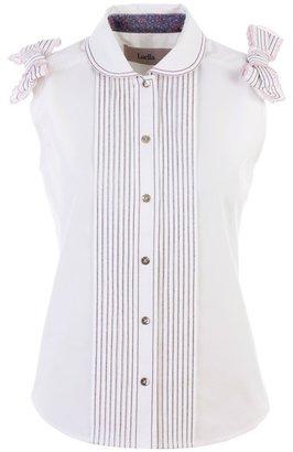 Luella Bow shoulder blouse