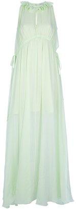 Carven semi-sheer dress