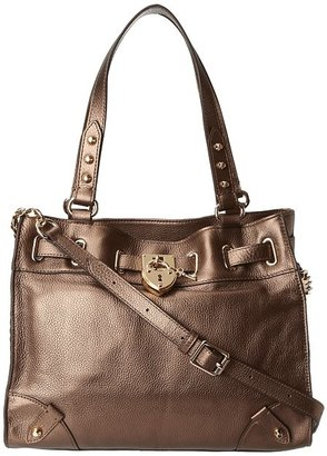 Juicy Couture Daydreamer Signiture Leather (Soft Gold 1) - Bags and Luggage