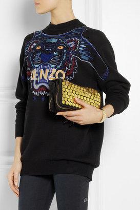 Jerome Dreyfuss Bobi embellished suede shoulder bag