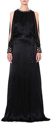 Temperley London Amounia silk-satin gown