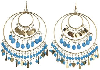 Kenneth Jay Lane 5059EGT (Gold/Turquoise) - Jewelry