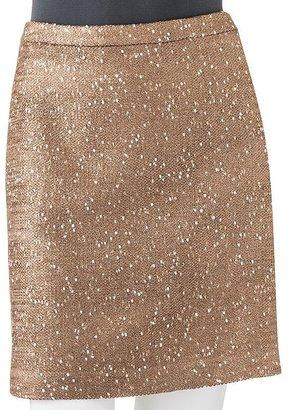 Apt. 9 nep lurex miniskirt