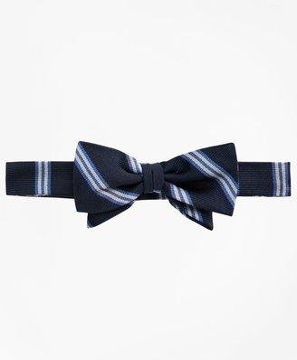 Brooks Brothers Boys BB# 1 Stripe Pre-Tied Bow Tie
