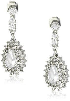 Nina Bridal Naila Vintage Inspired Teardrop Earrings