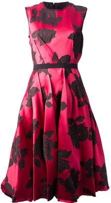 Lanvin embroidered floral dress