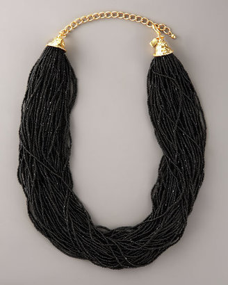 Kenneth Jay Lane Multi-Strand Bead Necklace