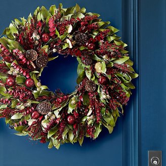 Williams-Sonoma Harvest Apple Wreath