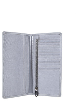Marc Jacobs SPECIAL Laminated Twill Jacobs Long Flat Wallet