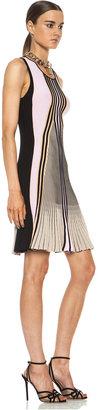 Ohne Titel Suspension Knit Dress in Melon Combo
