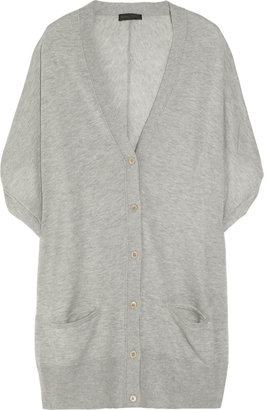 Donna Karan Dolman-sleeved cashmere cardigan