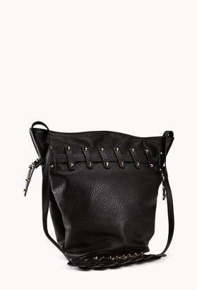 Forever 21 Bolt Studded Bucket Bag