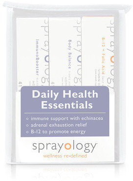 Sprayology Daily Health Essentials 3 Pack