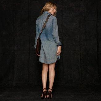 RRL Laced Denim Dress