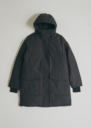 Canada Goose Women's Canmore Parka Jacket in Black, Size Large