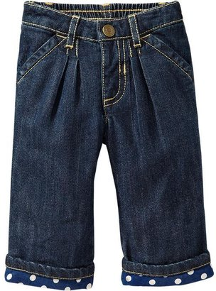 Old Navy Polka-Dot Roll-Cuff Jeans for Baby