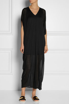 Helmut Lang Solstice draped Micro Modal-jersey maxi dress