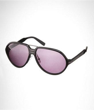 Express Premium Rounded Aviator Sunglasses