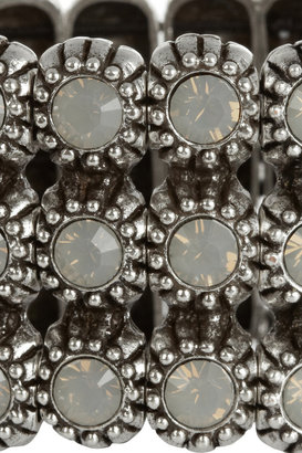 Philippe Audibert Kara silver-plated Swarovski crystal cuff