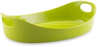 Rachael Ray Bubble & Brown 3-Quart Large Oval Baker - Green