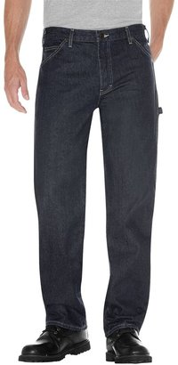 Dickies Men's Relaxed Fit Denim Carpenter Jeans