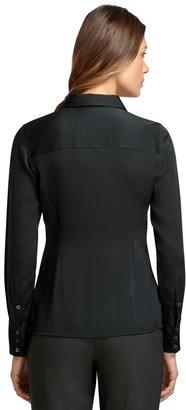 Brooks Brothers Stretch Silk Blouse