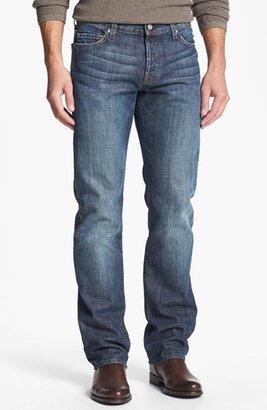 7 For All Mankind 'Standard' Straight Leg Jeans (New York Dark) (Tall)